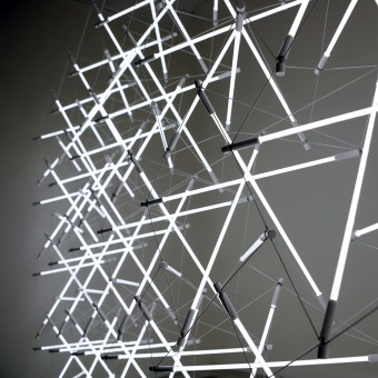 Tensegrity Space Frame Light Lighting Structure