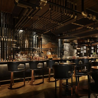 Attractive Midtown Brewery Restaurant Brewery Bar By Ryoichi Niwata