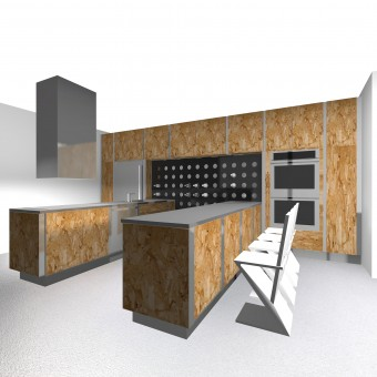 Eco Frame Kitchen Composition