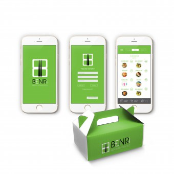 Benri: A Simple Lunch Ordering App App Design