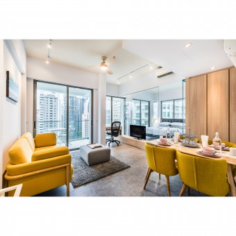 Simplicity Apartment Interior Design by Don Lin