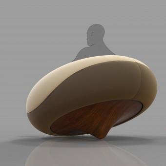 Donut Lounge Chair By Mula Preta Design