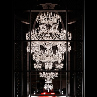 Baccarat 250th anniversary chandelier lighting aloadofball Images