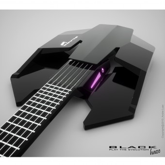 black haze electric guitar. Black Bedroom Furniture Sets. Home Design Ideas