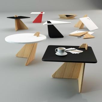 Balance Coffee Table by Mehmet Lutfi Hidayetoglu & Balance Coffee Table