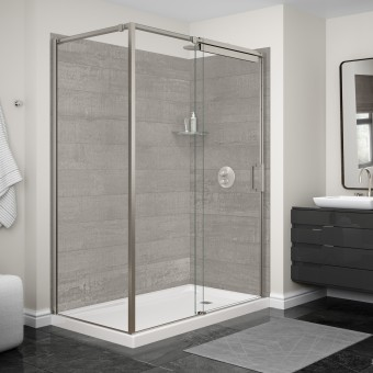 U Tile Shower Wall Panels - Fake tile panels for bathroom walls