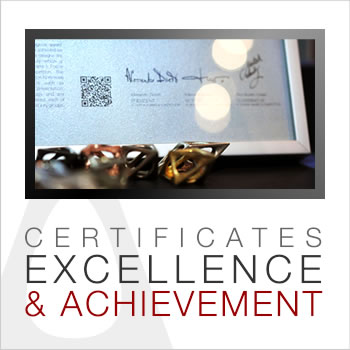 A' Design Award and Competition - Winners' Certificate