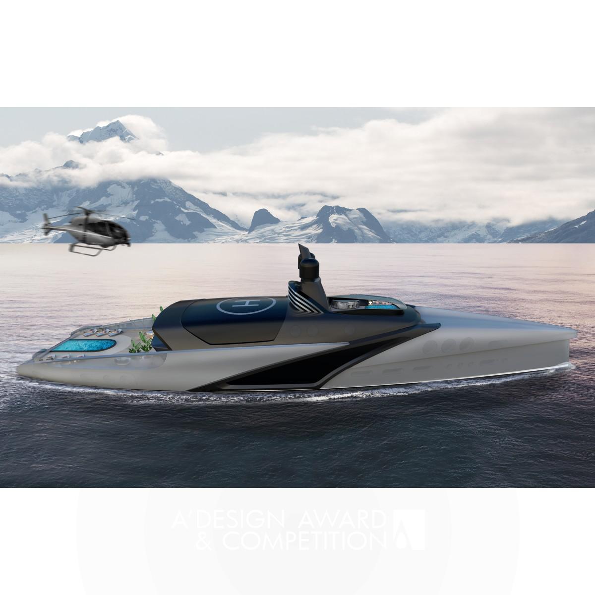 Iconic Sx80 Hybrid Yacht Design