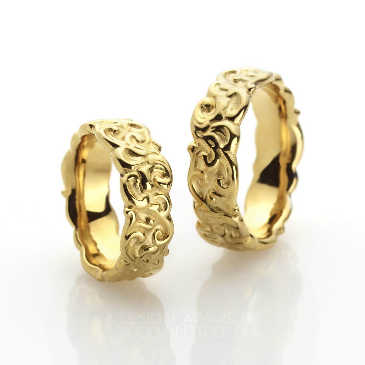 Marry Baroque  Wedding Rings