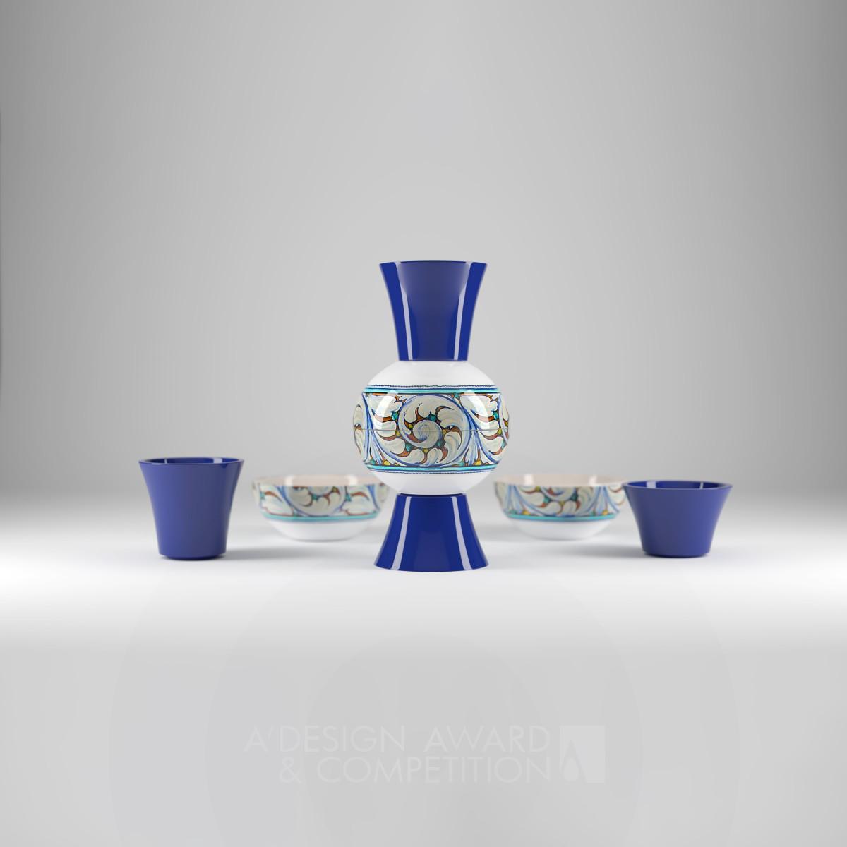 Castles In Ceramics Multifunctional Pot