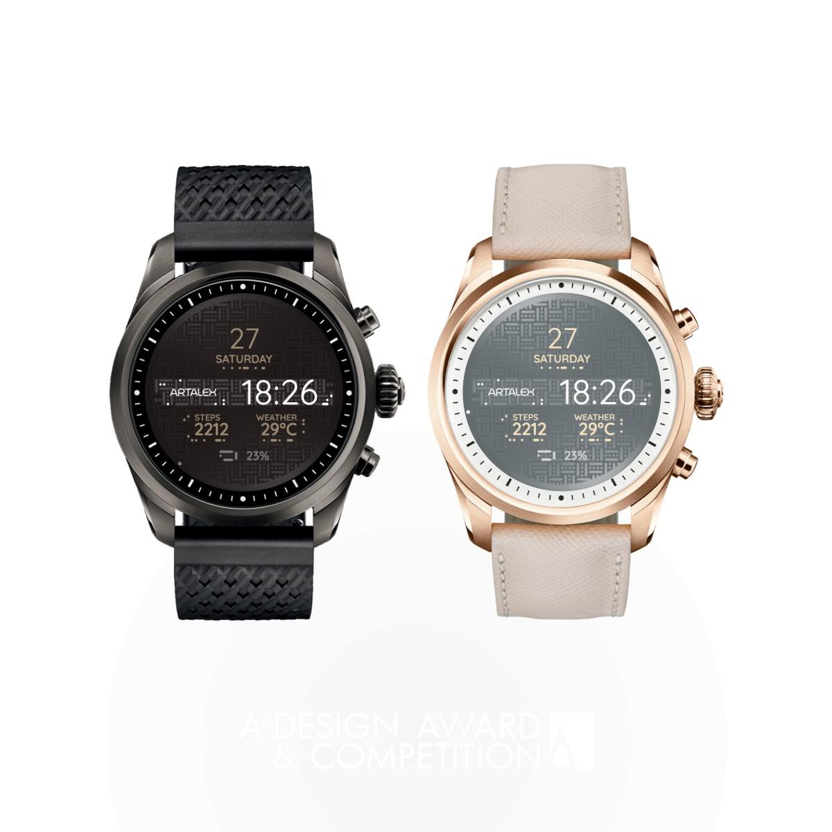Code Titanium Alloy Smartwatch Face