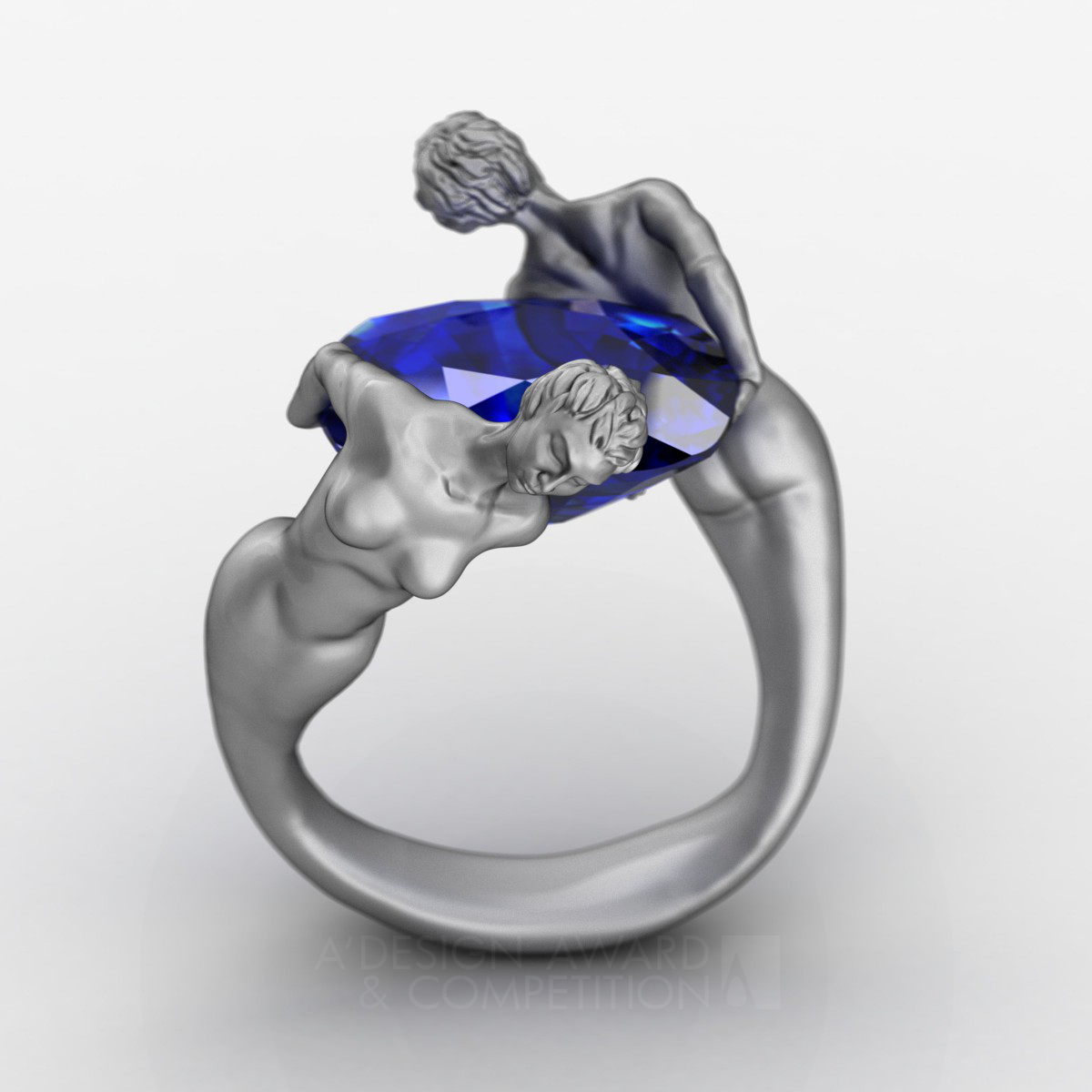 Twin Angels  Jewelry Ring