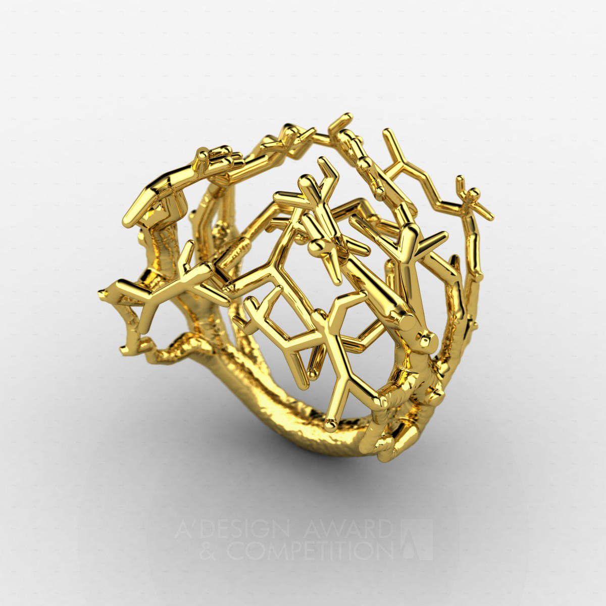 Fighting for what Tree ! Gold ring