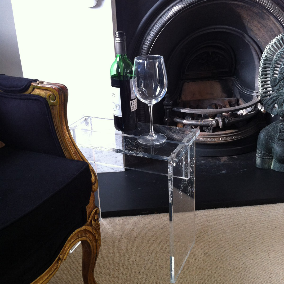 Chandelier table Side table