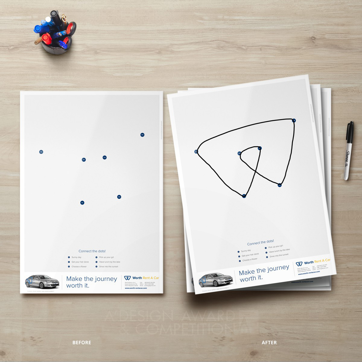Worth Interactive Advertising Print