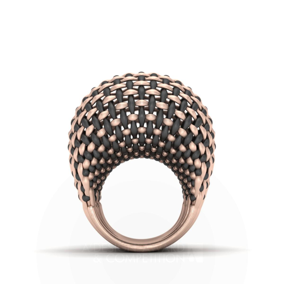 Interwoven Gold Ring