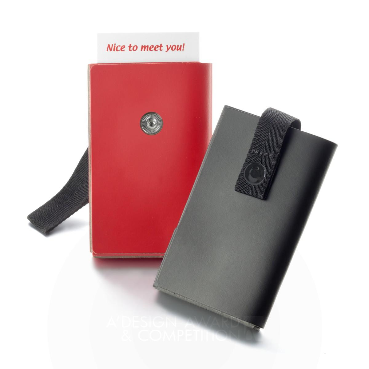 Smile  Business card holder