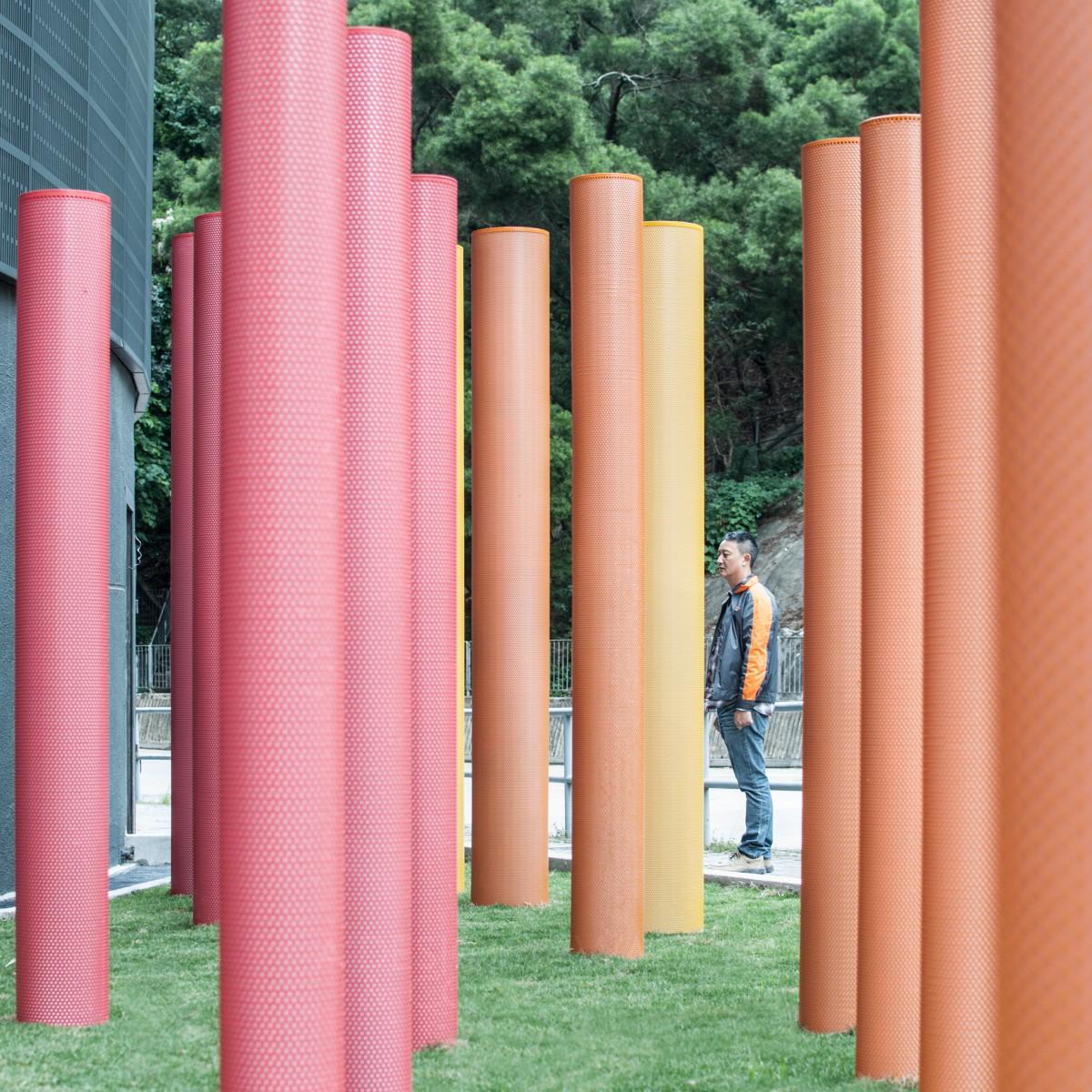 Flock Architectural Art Installation