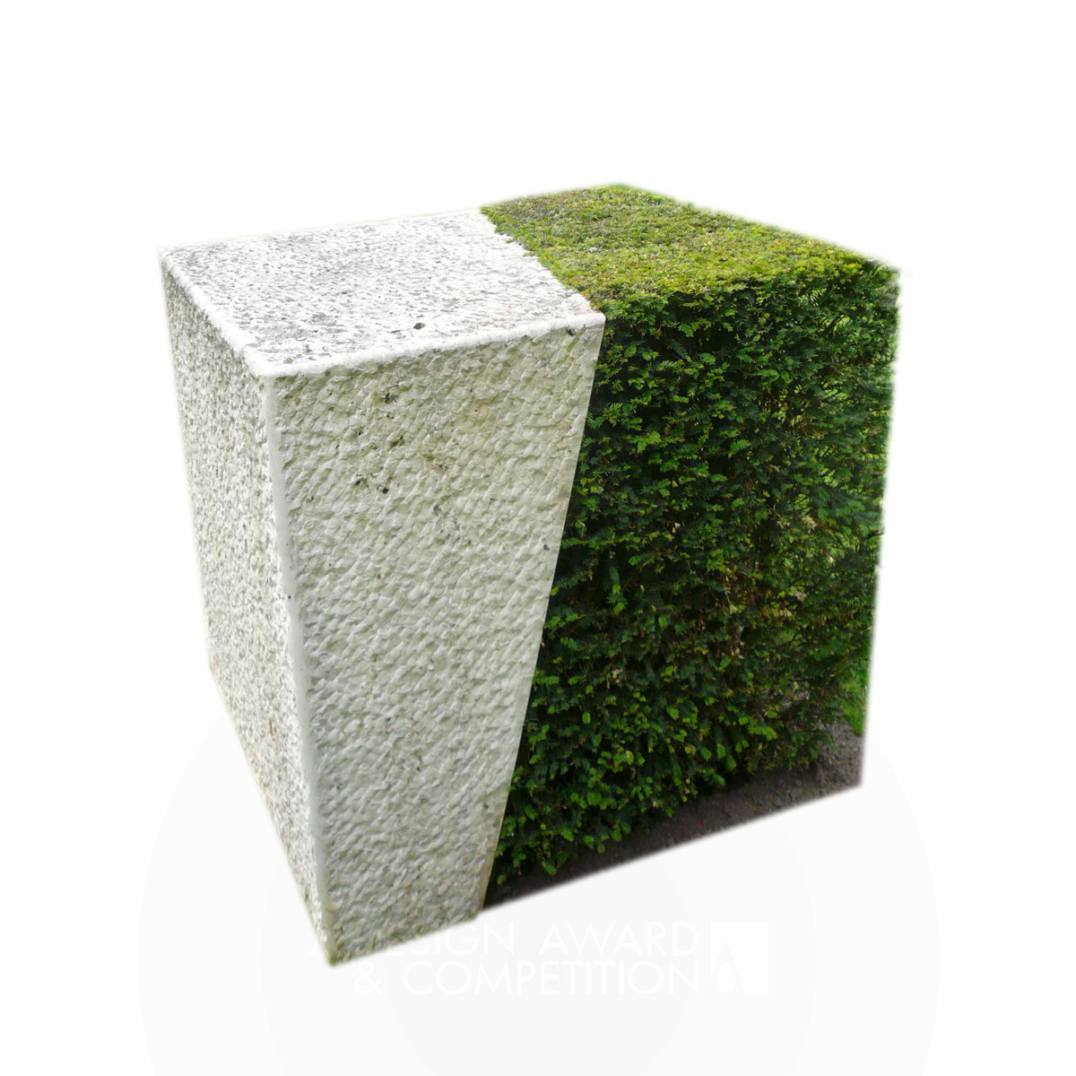 garden cube sculpture