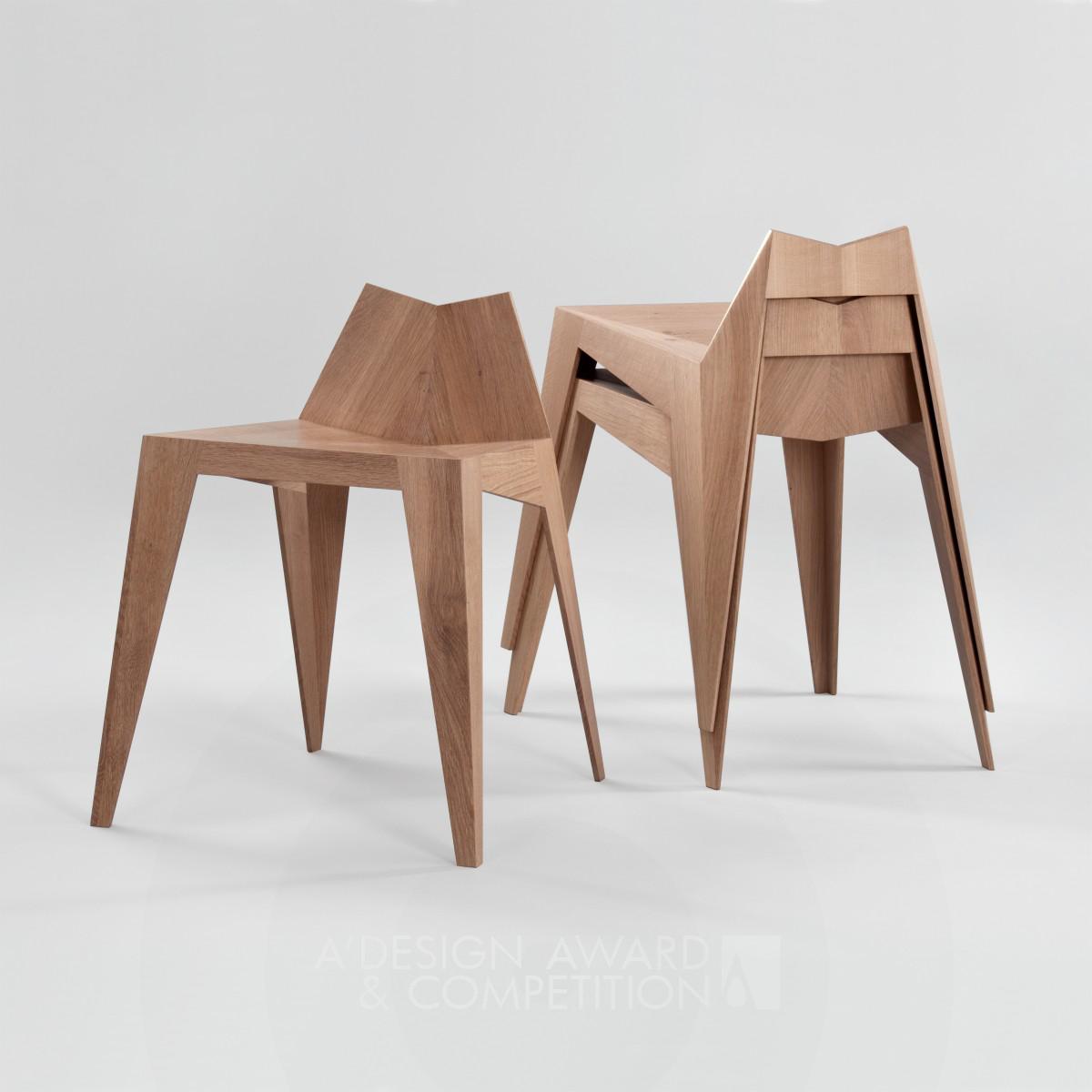 Stocker Chair, Stool