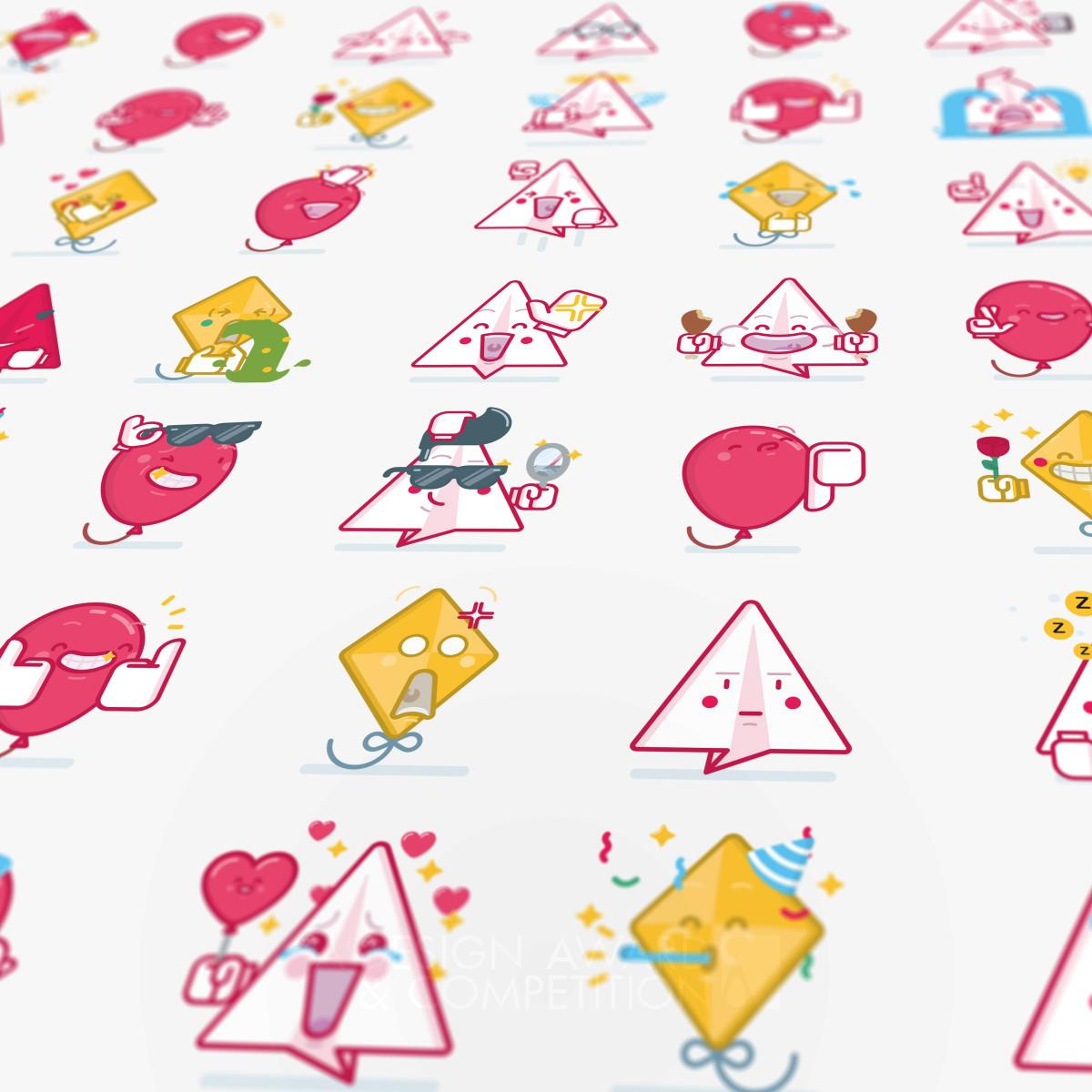 Fling Sticker set