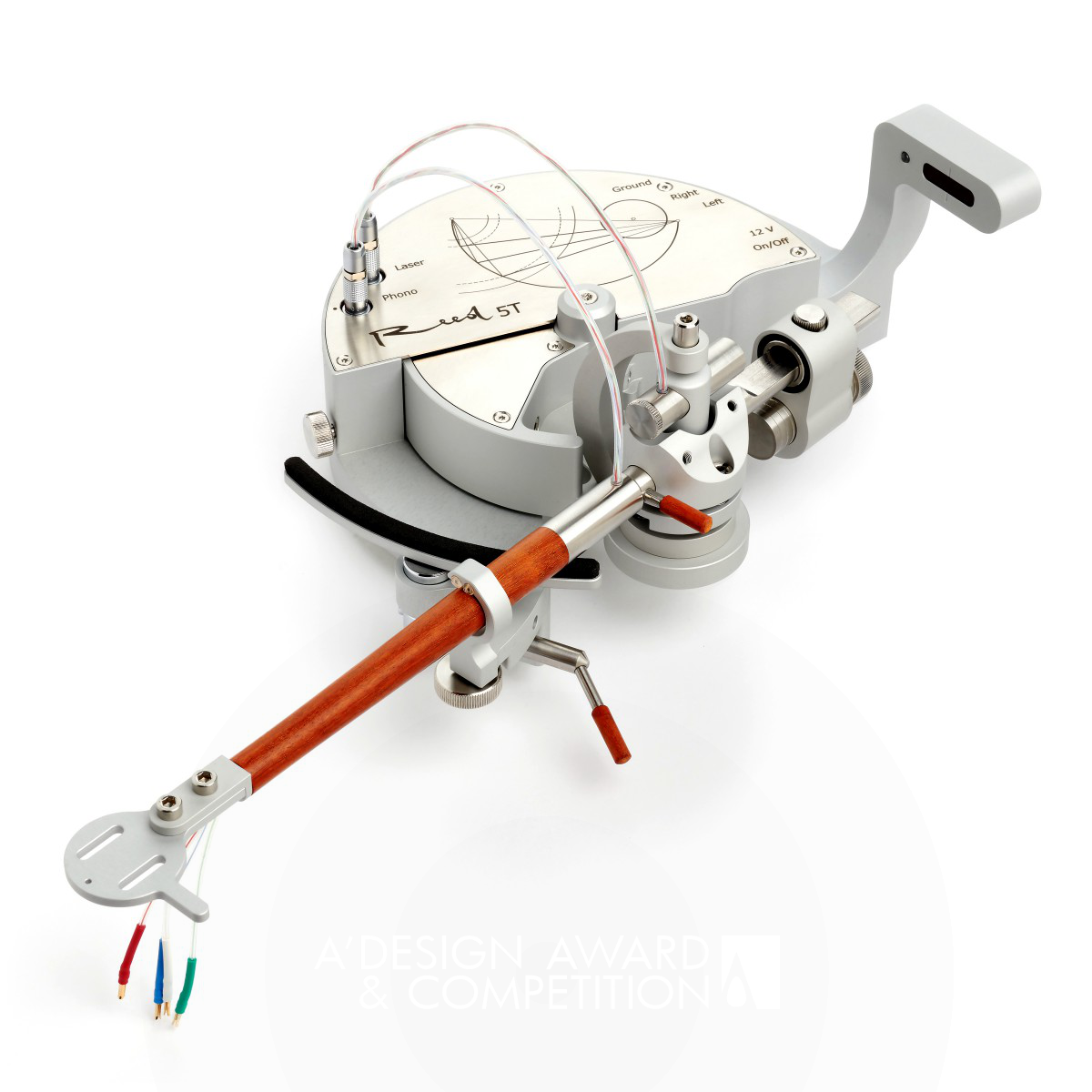 Reed 5T Linear Tracking Tonearm