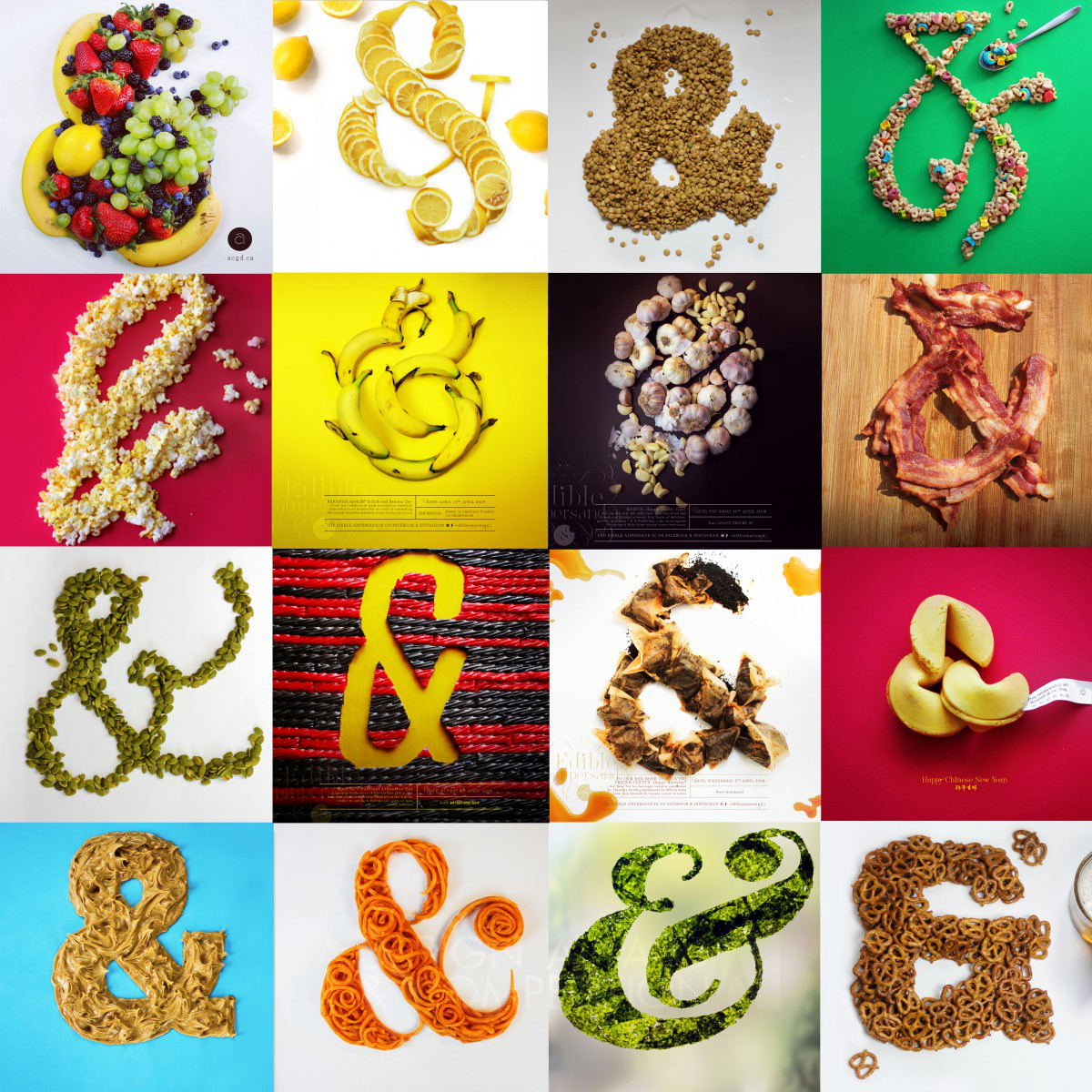 Edible Ampersand Personal Project