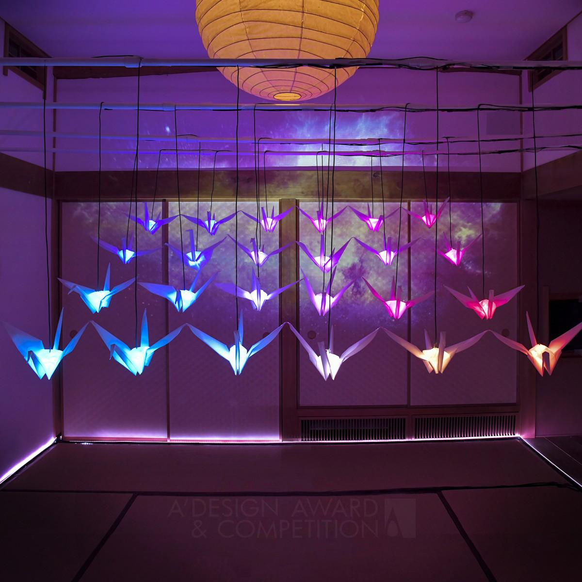 Orizuru Room Interactive Lighting