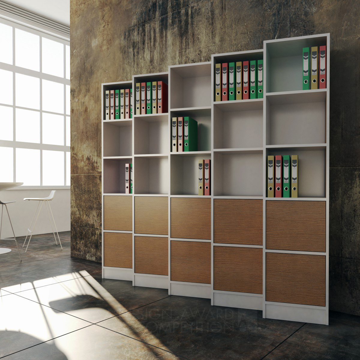 ZigZag File Cabinet