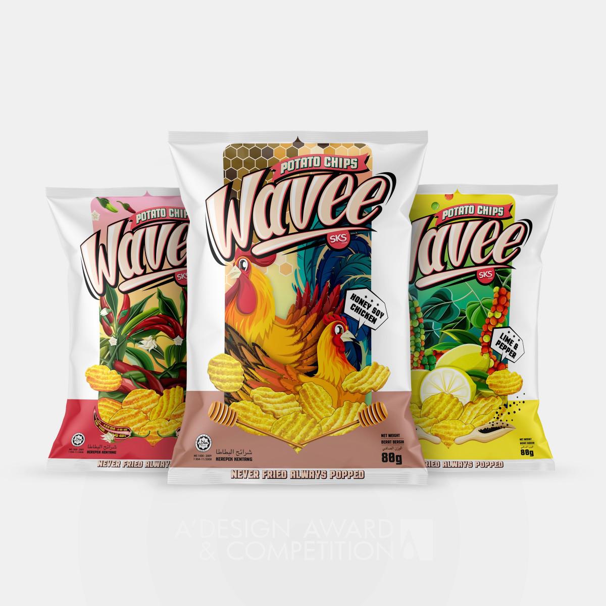 Wavee Packaging Identity