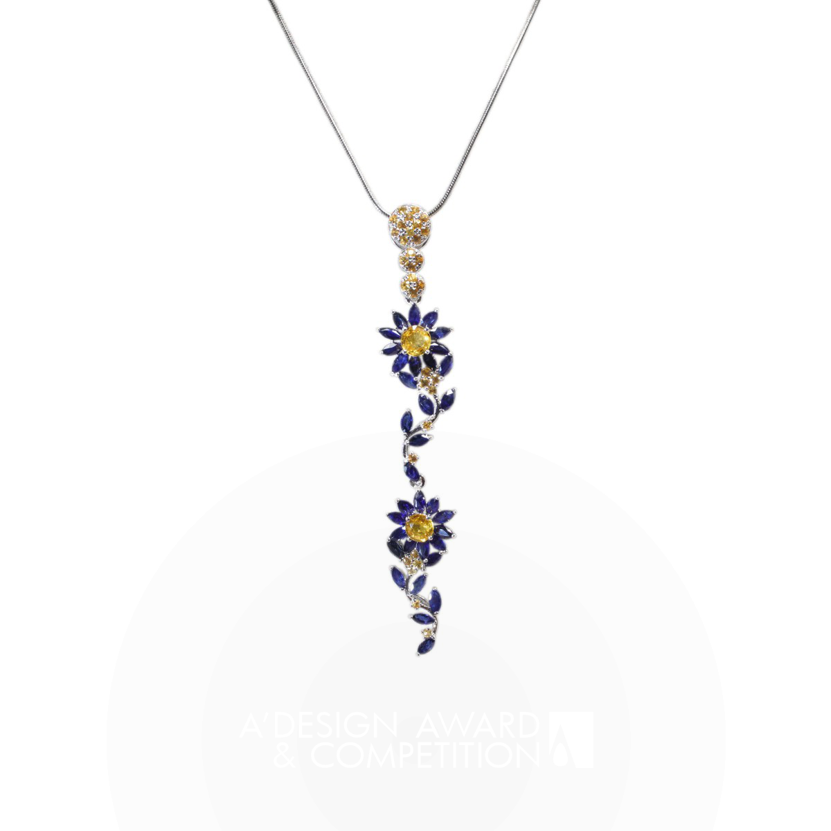 Blue Daisy Multifunctional Pendant
