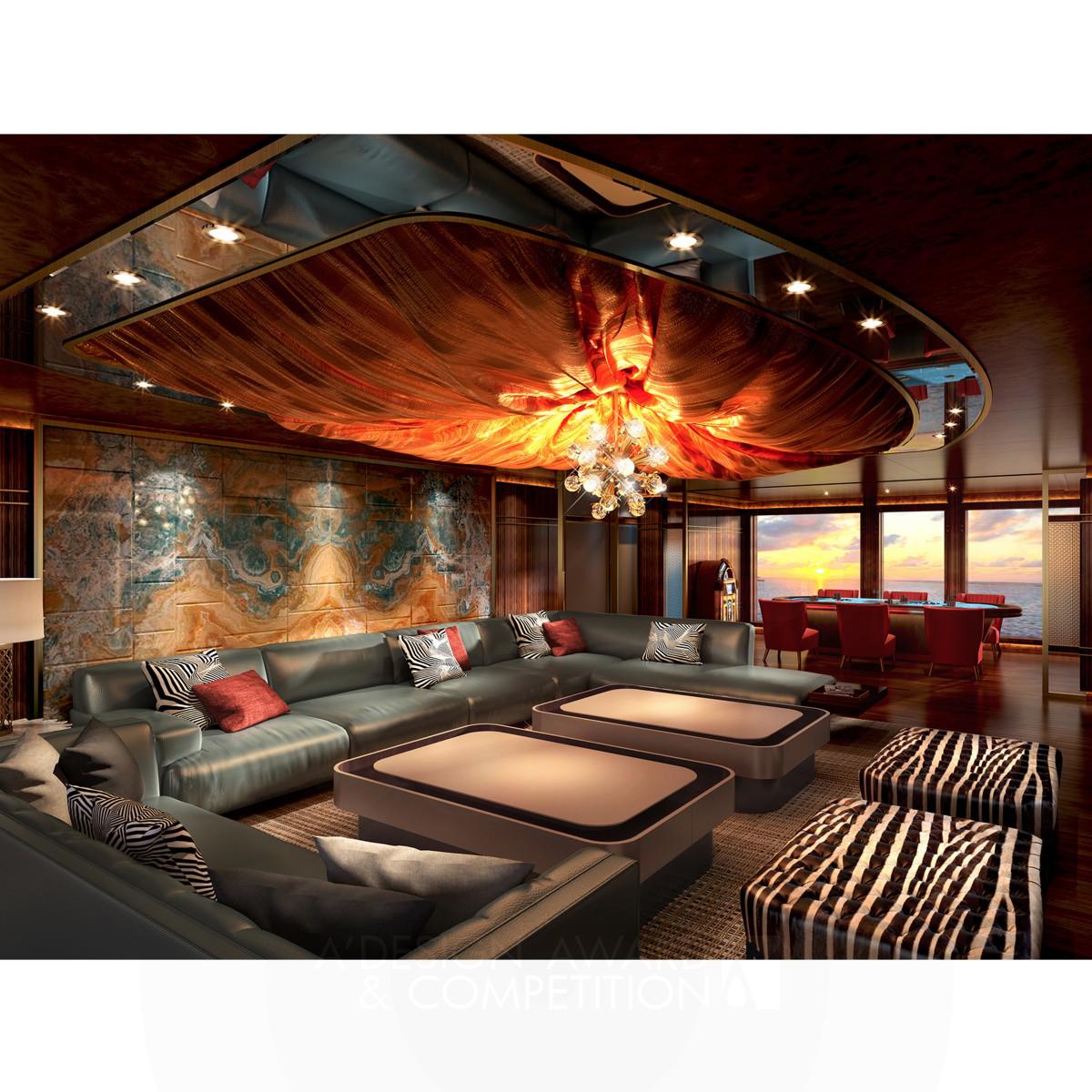 Red Star Yacht Interior