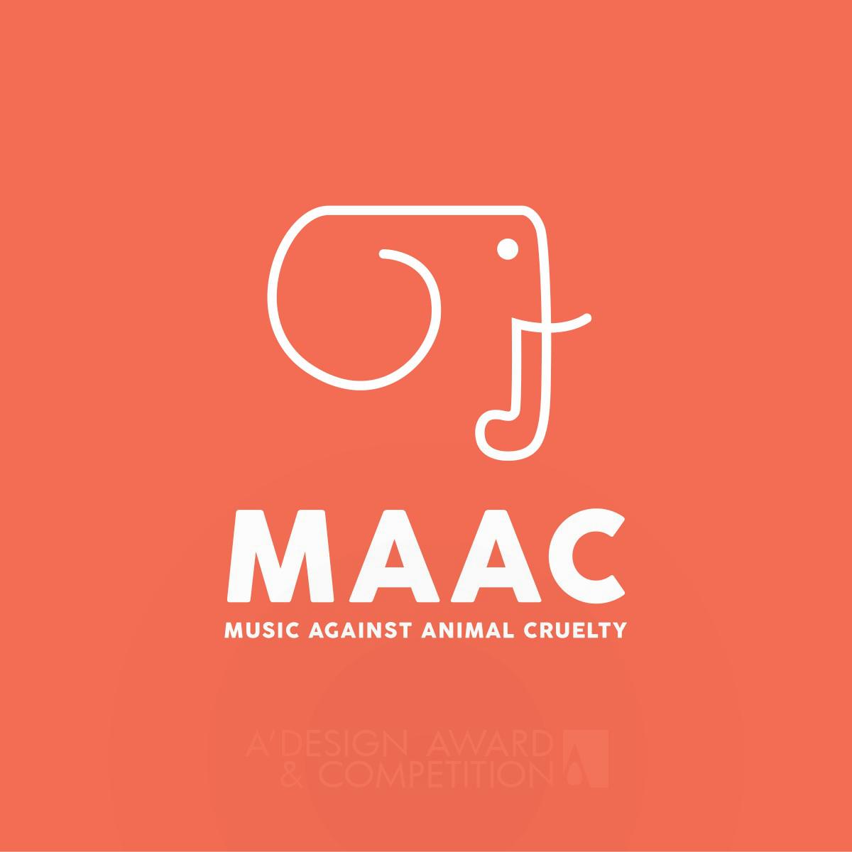 Music Against Animal Cruelty (MAAC) Logo