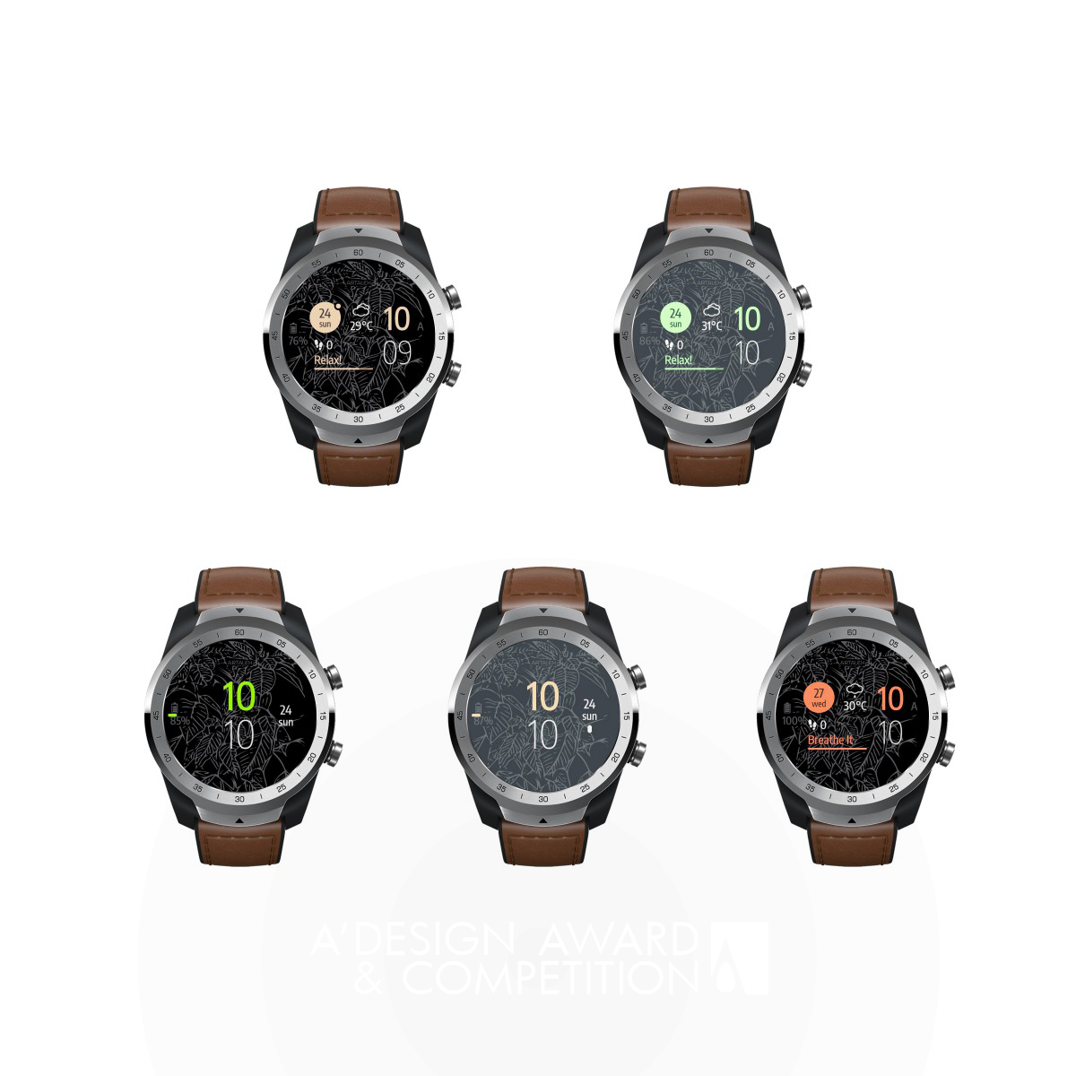 The Plant Smartwatch Watch Face
