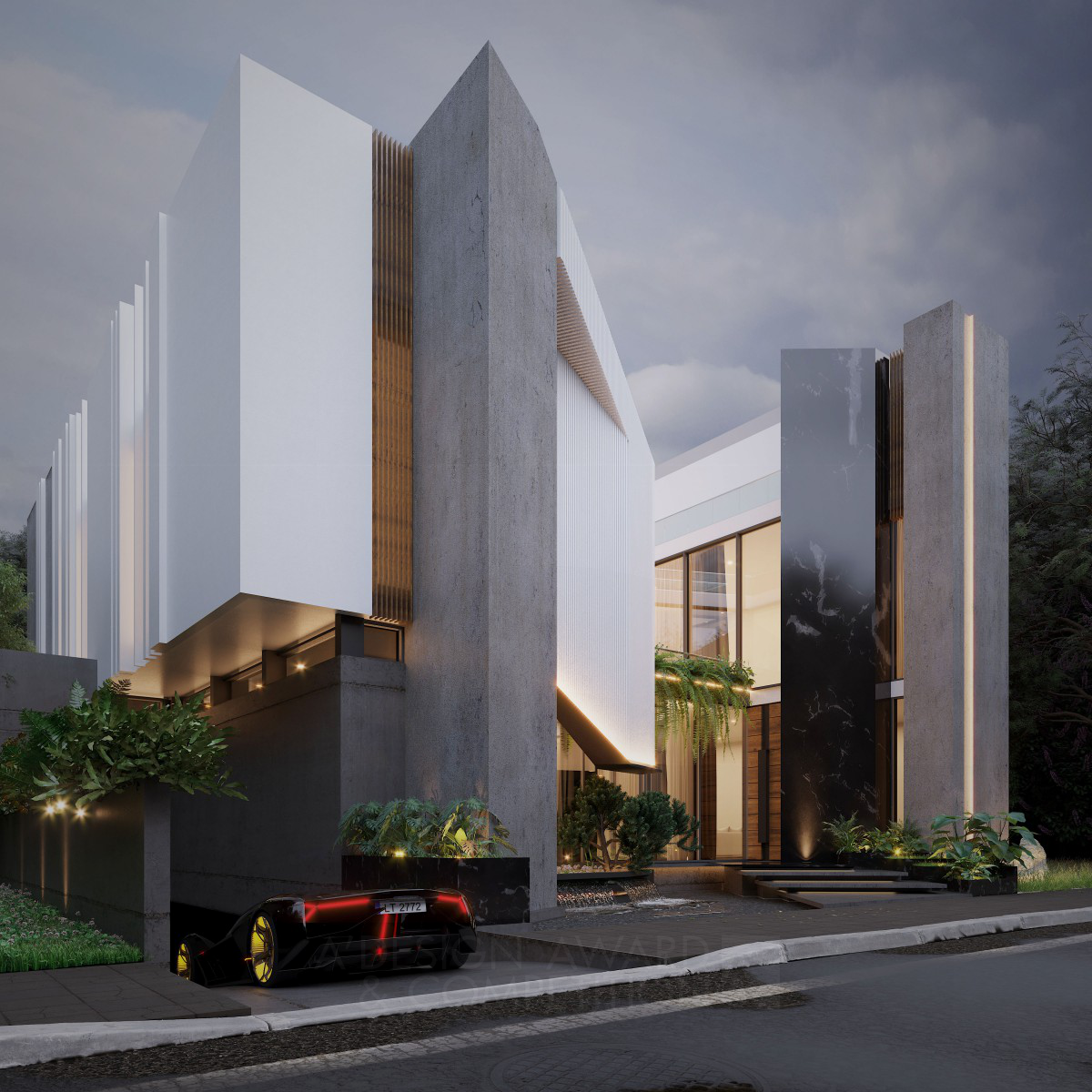 Abstract House Residential Home
