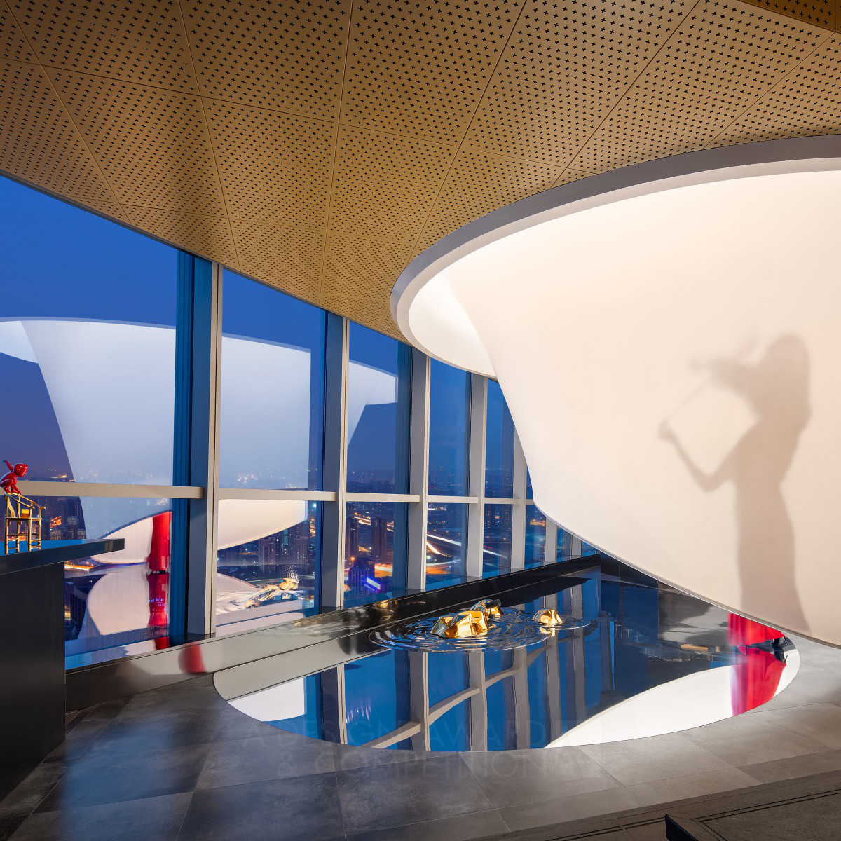 The Top of Cloud Restaurant Space