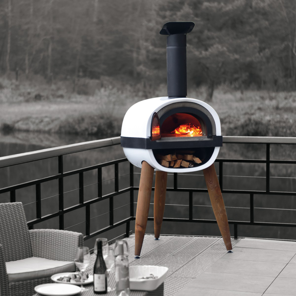 Alfred Outdoor Wood Oven