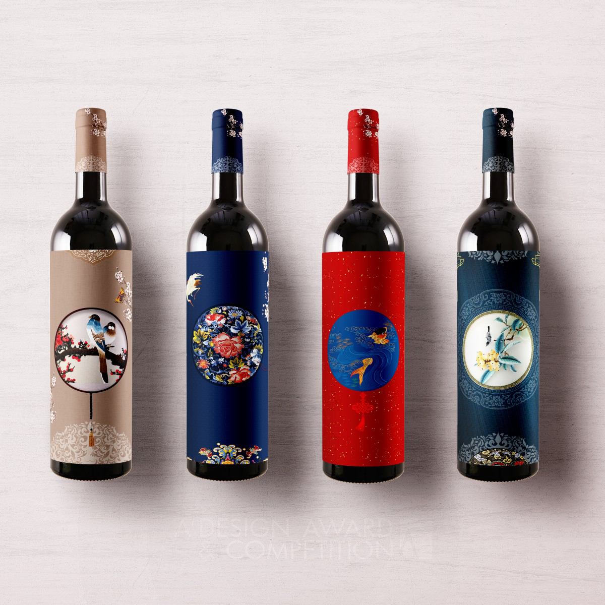 Imperial Palaces Wine packaging