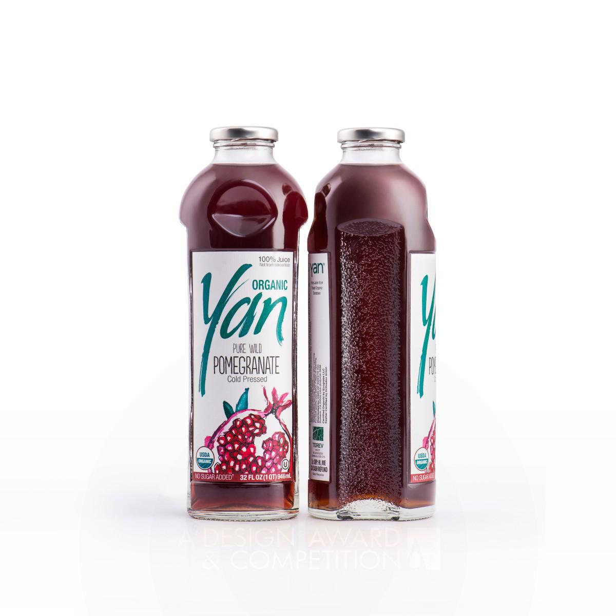 Yan Natural Juice Packaging