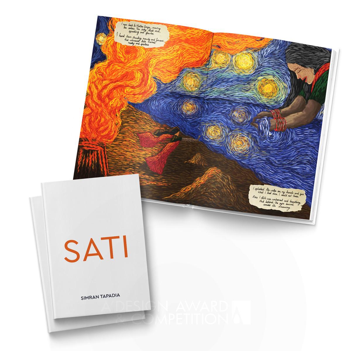 Sati Comic Book