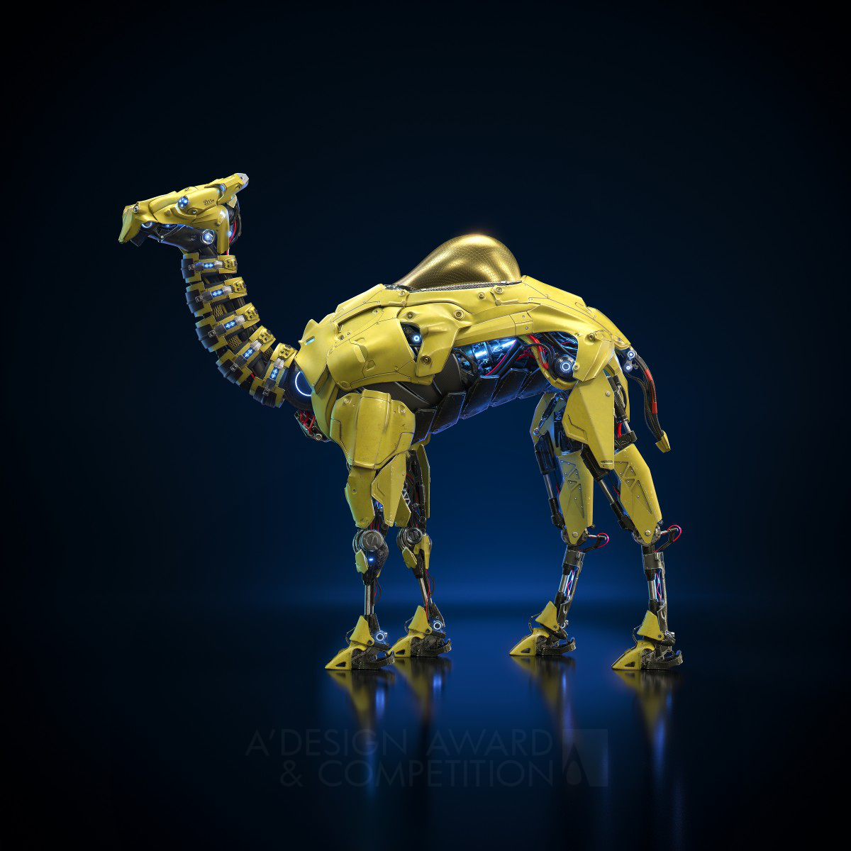 Camel Robot Digital Art