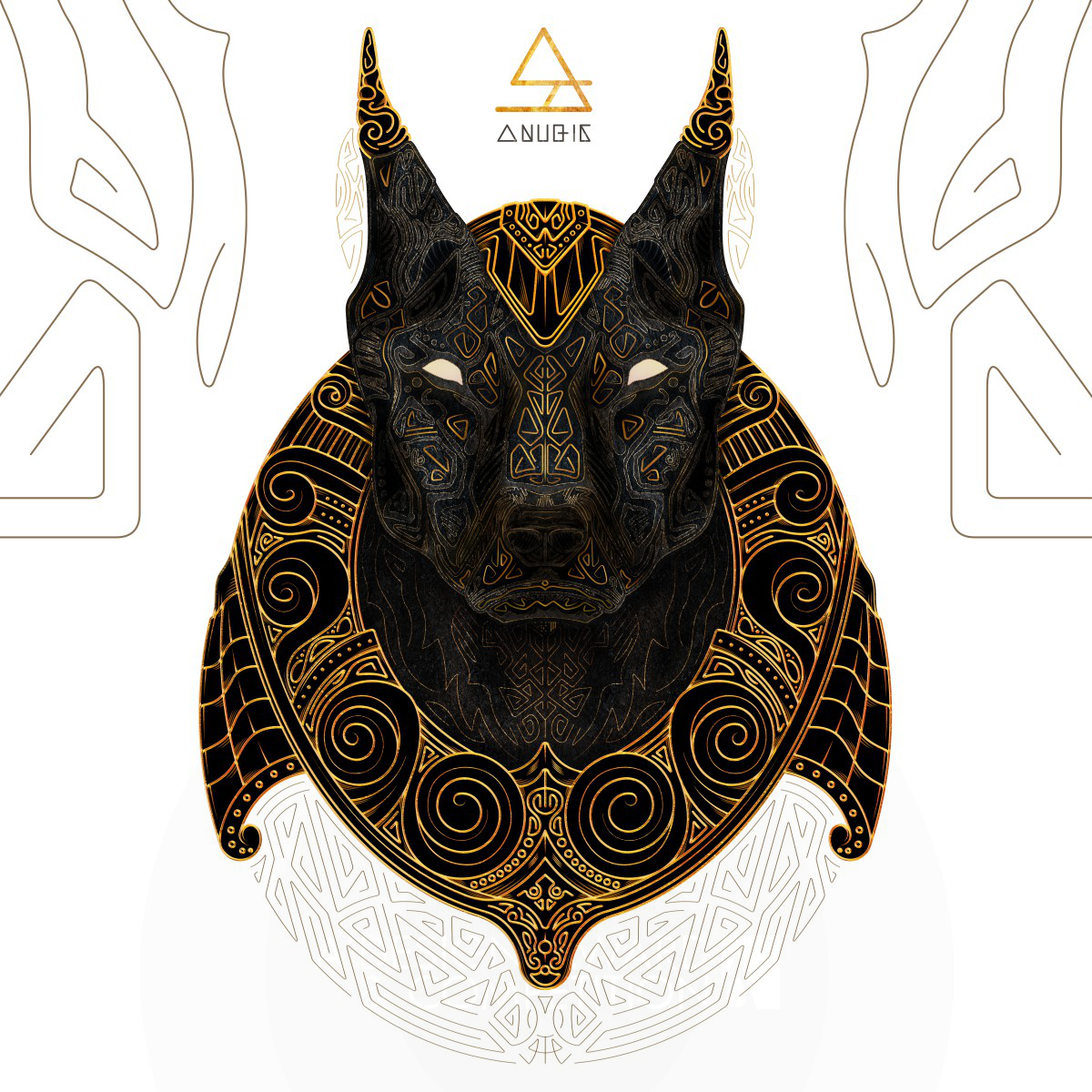Anubis The Judge Illustration