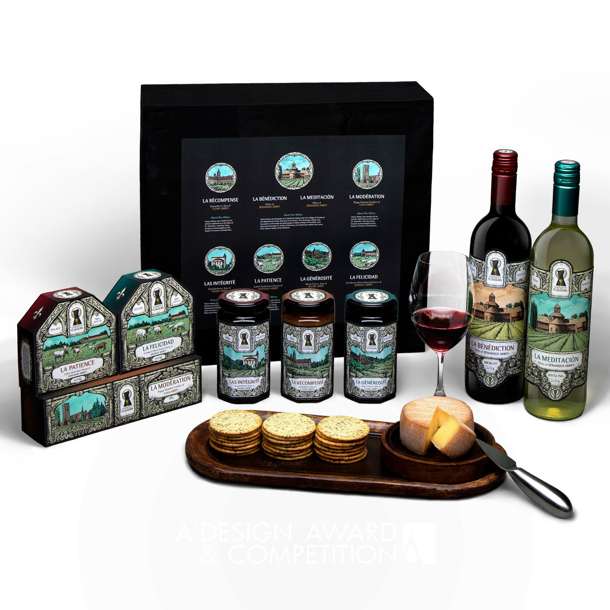 Saintly Flavours Gourmet Food Gift Set