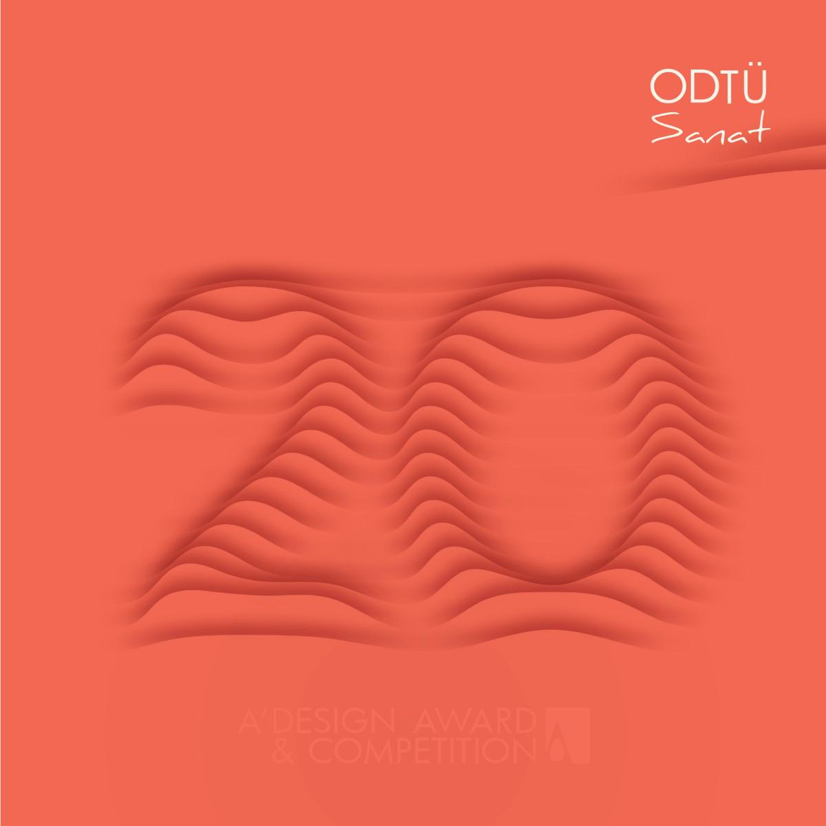 ODTU Sanat 20 Visual Identity Design