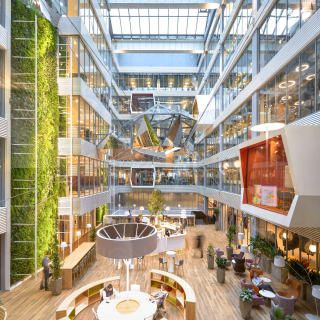 Sberbank Headquarters Atrium
