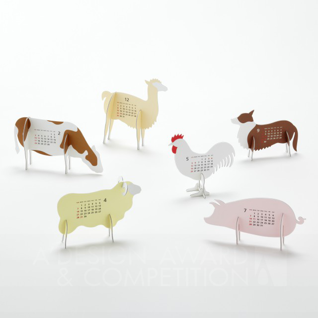 """calendar 2013 """"Farm"""" Хуанли"""
