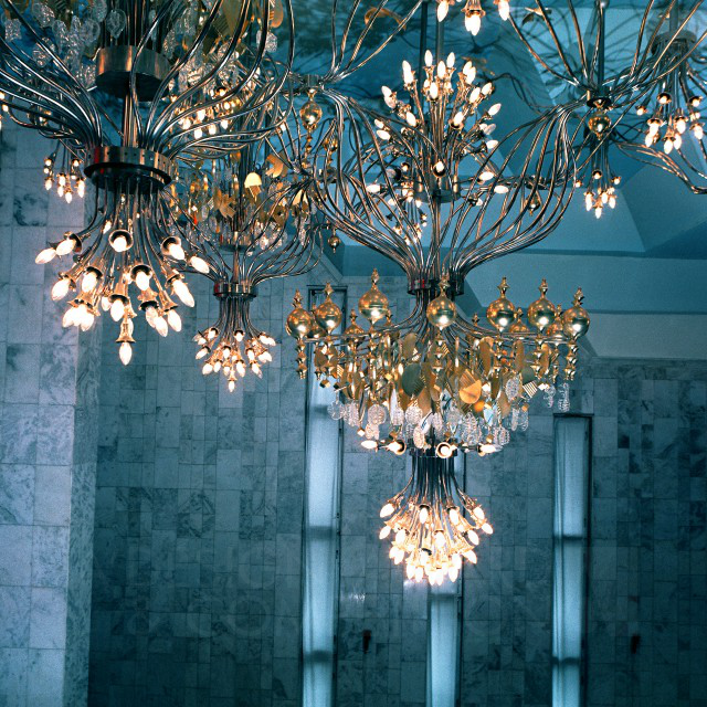 Bridal Veil An Chandelier