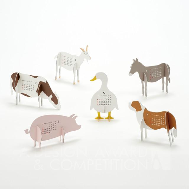 "Calendar 2014 ""Farm"" ਕੈਲੰਡਰ"