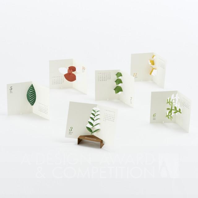 """Calendar 2014 """"Botanical Life"""" ប្រតិទិន"""