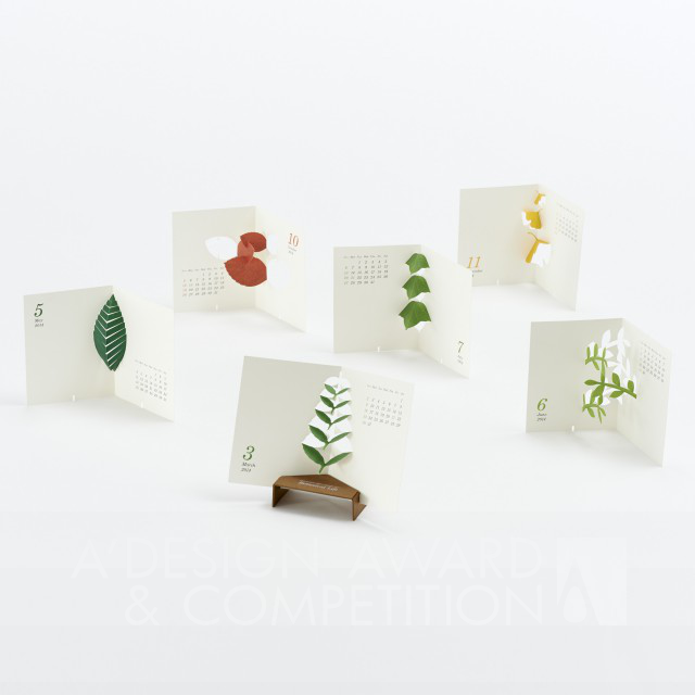 "Calendar 2014 ""Botanical Life"" לוח השנה"